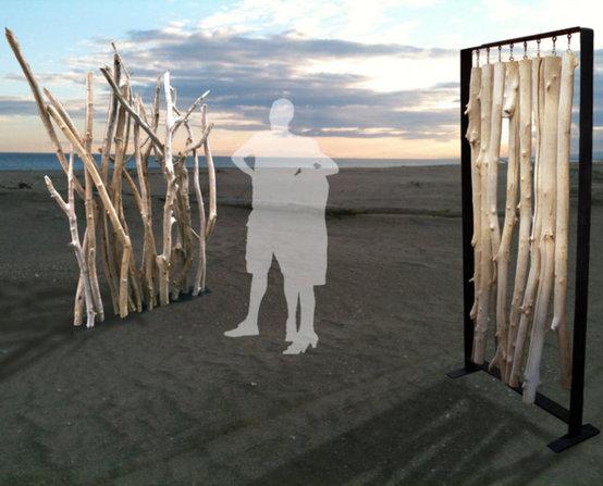 Driftwood screens
