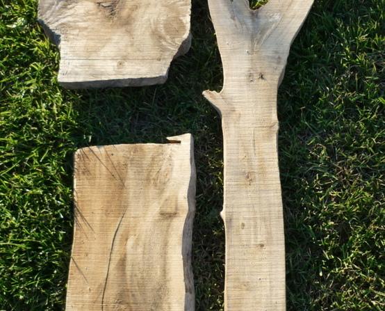 Planches de bois flotté