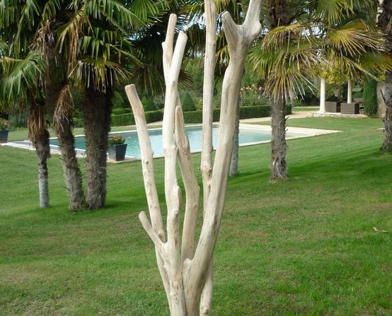 Sculpture en bois flotte