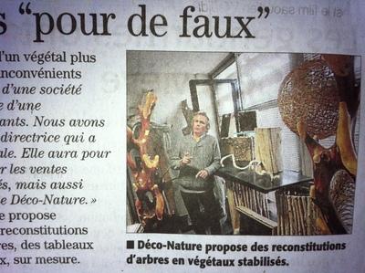 Un reportage sur l'entreprise Déco-Nature et son atelier à Innovosud, à Béziers