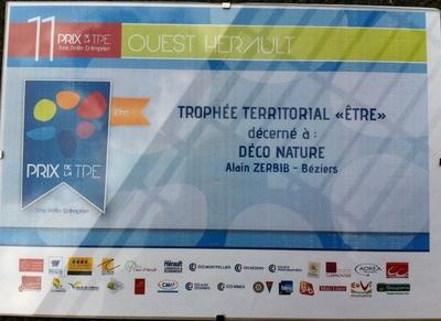 trophée territorial