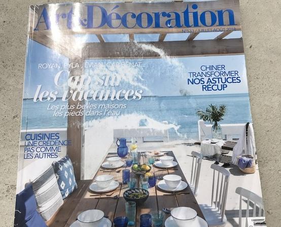 Deco nature et le magazine Art et Décoration