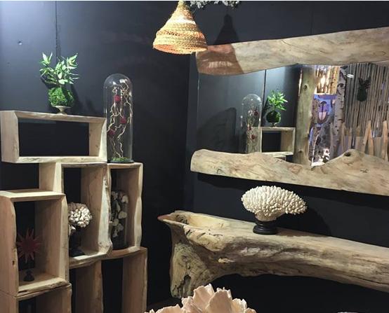 Décoration en bois flotté