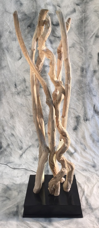 Colonne de lianes guimauves éclairées