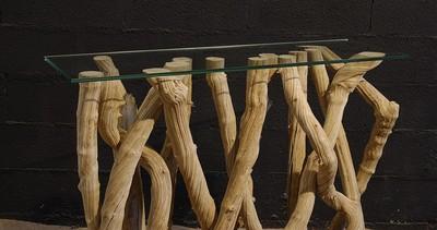 Natural Liana console table
