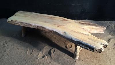 Table basse en bois flotté ref 5472