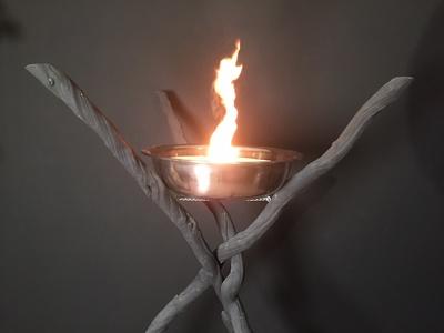 Flambeau en lianes