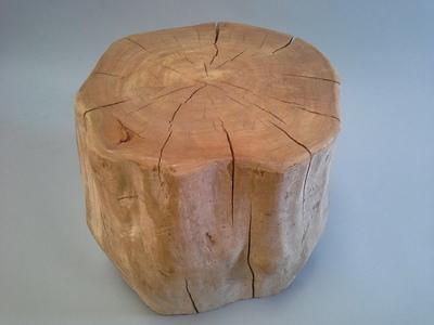 Bout de canapé en bois flotté
