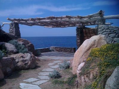 Pergolas en Corse, architecte Mr Trevoux
