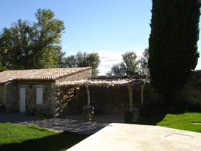 Pergola dans le sud de la France